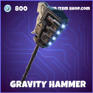 Gravity Hammer Fortnite Halo Pickaxe