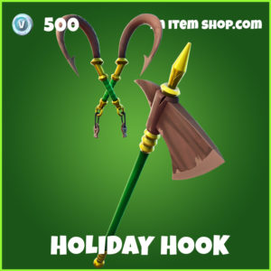 HOliday Hook uncommon fortnite pickaxe