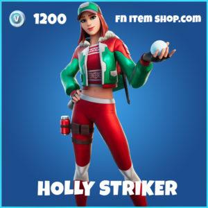 Holly Striker rare Fortnite Skin