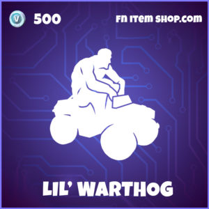 Lil Lil' Warthog Fortnite Halo Emote