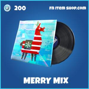Merry Mix rare Fortnite Music Pack