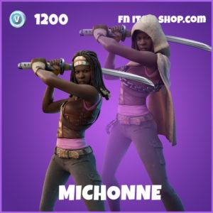 Michonne The Walking Dead Fortnite Skin