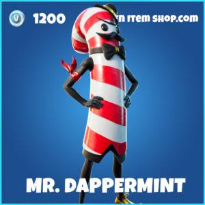 Mr. Dappermint rare Fortnite Skin