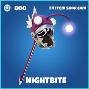 Nightbite rare fornite pickaxe