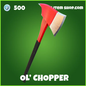 Ol; Chopper uncommon Fortnite Pickaxe