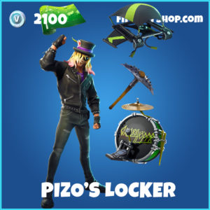 Pizo's Locker Bundle Fortnite pack