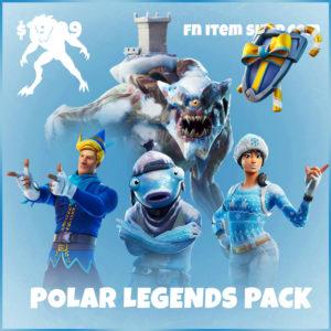 Polar Legends Pack Frozen Fortnite Bundle