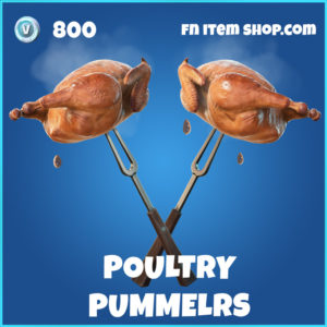 Poultry Pummelers rare Fortnite Pickaxe