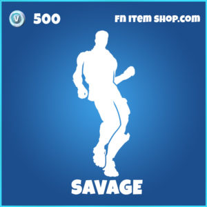 Savage Fortnite Emote