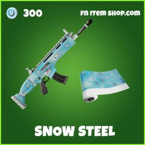 Snow Steel uncommon Fortnite wrap