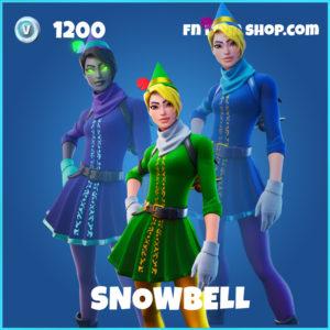 Snowbell rare Fortnite skin