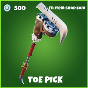 Toe Pick Fortnite Pickaxe