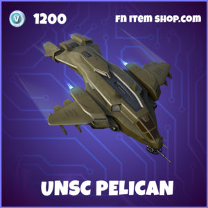 UNSC Pelican Fortnite Halo Glider
