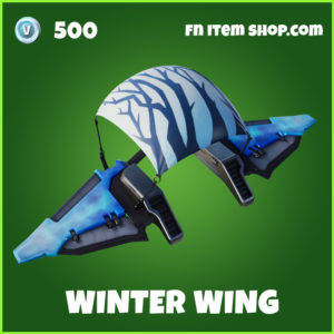 Winter Wing uncommon fortnite glider