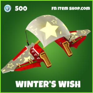 Winter' Wish uncommon fortnite Glider