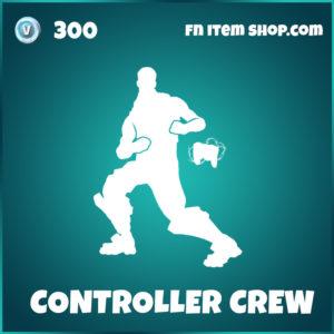 Controller Crew TheGrefg Fortnite emote