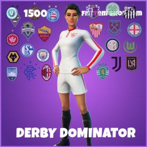 Derby Dominator Fortnite Skin