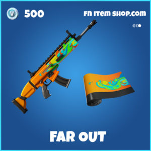 Far Out Fortnite wrap