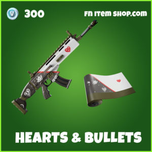 Hearts & Bullets fortnite wrap