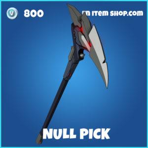 Null Pick fortnite pickaxe