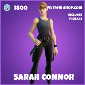 Sarah Connor Fortnite Terminator Skin
