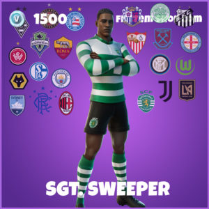 Sgt. Sweeper Fortnite Skin