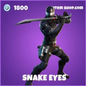 Snake Eyes FOrtnite Skin