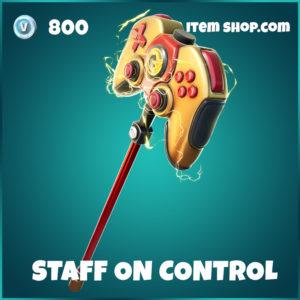 Staff of Control Fortnite pickaxe