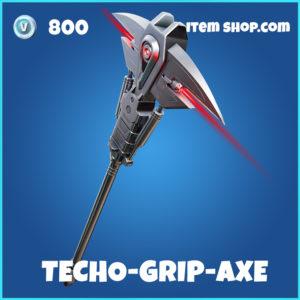 Techno-Grip Axe Fortnite Terminator Pickaxe