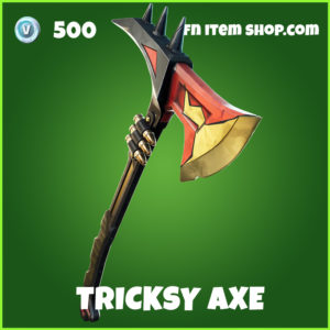 Tricksy Axe fortnite pickaxe