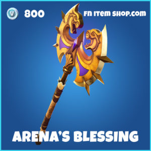 Arena's Blessing Fortnite Pickaxe