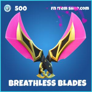 Breathless Blades Fortnite pickaxe