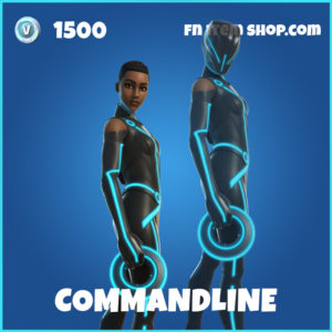 Commandline Tron Legacy Fortnite Skin