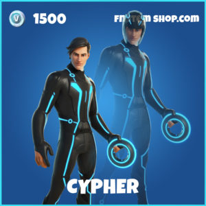 Cypher Tron Legacy Fortnite Skin