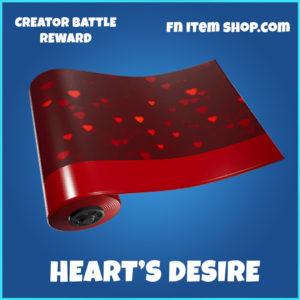 Heart's Desire Fortnite Wrap