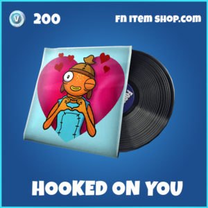 Hooked On You Fortnite Music Pack