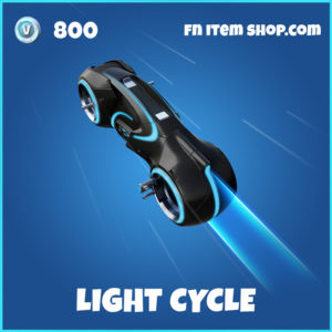 Light Cycle Tron Legacy Fortnite Glider