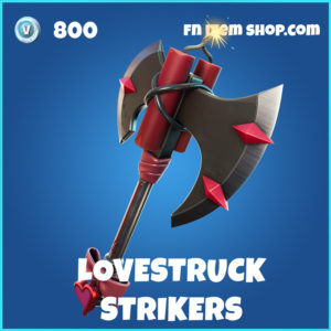 Lovestruck Strikers Fortnite pickaxe
