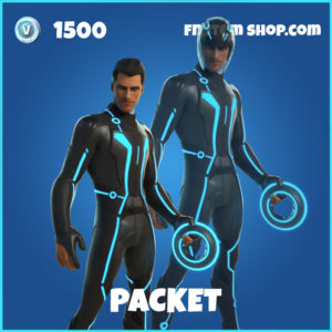 Packet Tron Legacy Fortnite Skin