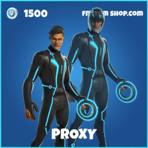 Proxy Tron Legacy Fortnite Skin
