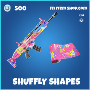 Shuffly Shapes Fortnite Wrap