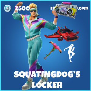 SquatingDog's Locker Fortnite Bundle