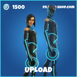 Upload Tron Legacy Fortnite Skin