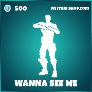 Wanne See Me FOrtnite Emote