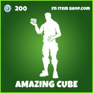 Amazing CUbe Fortnite Emote