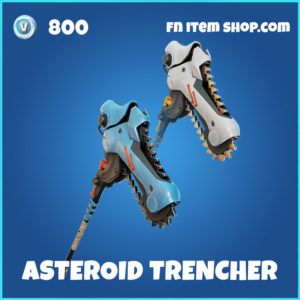 Asteroid Trencher Fortnite pikcaxe harvesting tool