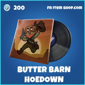 Butter Barn Hoedown music pack Fortnite
