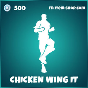 Chicken Wing It Fortnite Emote