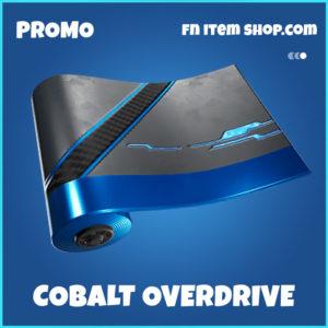 Cobalt Overdrive Fortnite Wrap