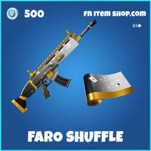 Faro Shuffle Fortnite Wrap